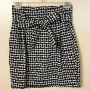 Express Mini Skirt with Tie